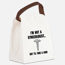 Gynecologist Canvas Lunch Bag