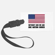 One Nation Under God Luggage Tag
