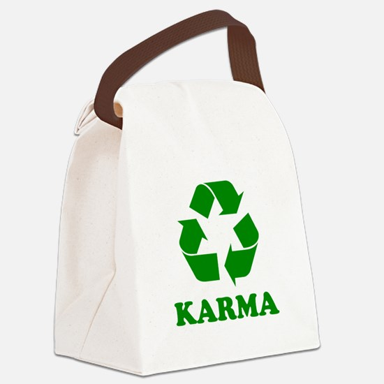 Karma Recycle Canvas Lunch Bag