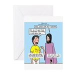 John's 3:16 T-Shirt Greeting Cards (Pk of 10)