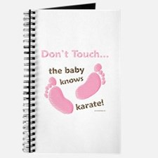 Karate Baby Green Journal
