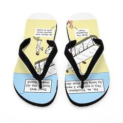 The Nicodemus Flyer Flip Flops