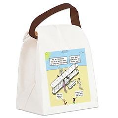 The Nicodemus Flyer Canvas Lunch Bag