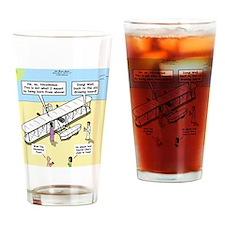 The Nicodemus Flyer Drinking Glass