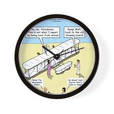 The Nicodemus Flyer Wall Clock