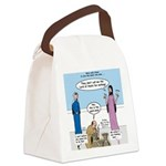 Fine Wine Canvas Lunch Bag