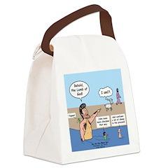 Lamb of God Canvas Lunch Bag