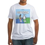Lamb Clarification Fitted T-Shirt