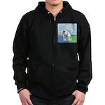 Lamb Clarification Zip Hoodie (dark)