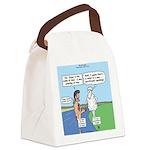 Lamb Clarification Canvas Lunch Bag