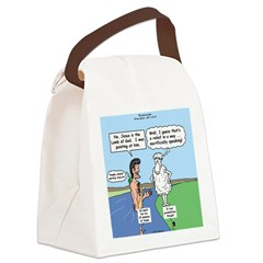 Lamb Clarification Canvas Lunch Bag