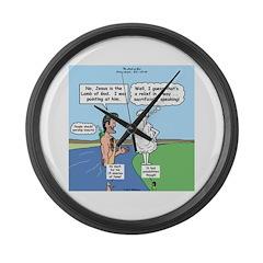 Lamb Clarification Large Wall Clock