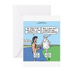Lamb Clarification Greeting Cards (Pk of 10)
