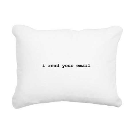 I Read You Email Black.png Rectangular Canvas Pill