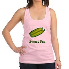 Sweet Pea Green SOT.png Racerback Tank Top