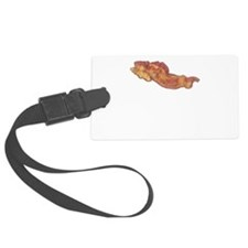 Bacon Or Wrong Black.png Luggage Tag