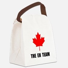 The EH Team Black.png Canvas Lunch Bag