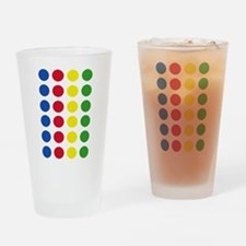 Twister Dots Drinking Glass