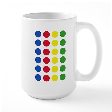 Twister Dots Large Mug