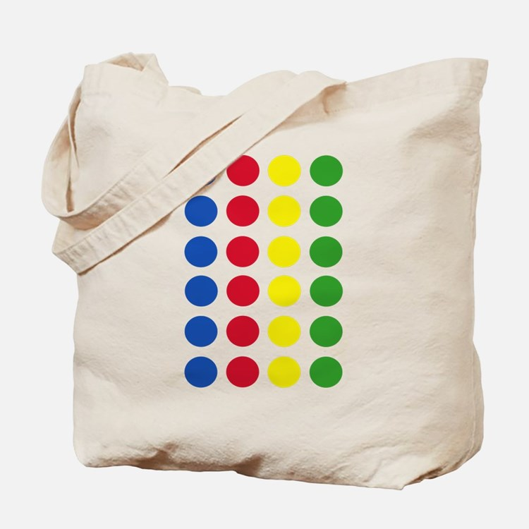 Twister Dots Tote Bag