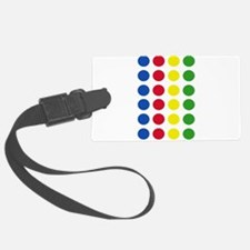 Twister Dots Luggage Tag
