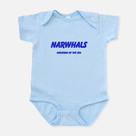 Narwhals Infant Bodysuit