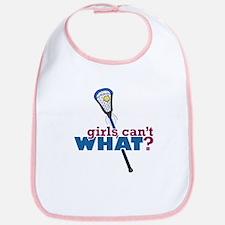 Lacrosse Stick Blue Bib