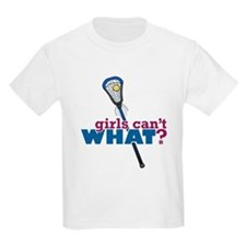 Lacrosse Stick Blue T-Shirt