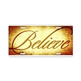 Believe License Plates