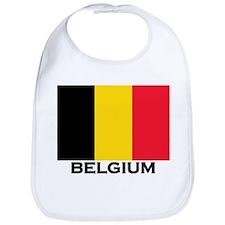 Belgium Flag Merchandise Bib