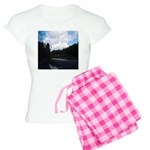 Eel River with Clouds Women's Light Pajamas