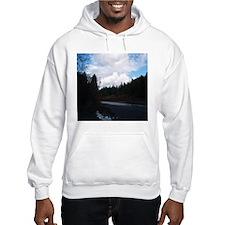 Eel River with Clouds Hoodie