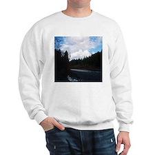 Eel River with Clouds Sweatshirt