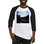 Eel River with Clouds Baseball Jersey
