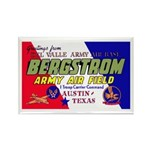 Bergstrom Army Air Base Rectangle Magnet (10 pack)
