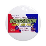 Bergstrom Army Air Base Ornament (Round)