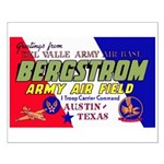 Bergstrom Army Air Base Small Poster