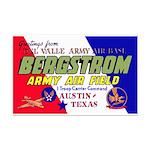Bergstrom Army Air Base Mini Poster Print