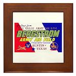Bergstrom Army Air Base Framed Tile