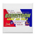 Bergstrom Army Air Base Tile Coaster