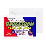 Bergstrom Army Air Base Greeting Cards (Package of