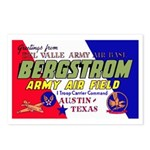 Bergstrom Army Air Base Postcards (Package of 8)