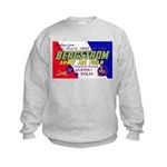 Bergstrom Army Air Base Kids Sweatshirt