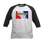 Bergstrom Army Air Base Kids Baseball Jersey