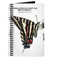 Zebra Swallowtail Butterfly Journal