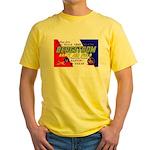 Bergstrom Army Air Base Yellow T-Shirt