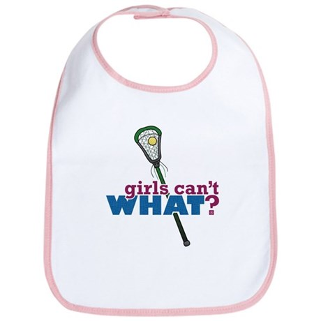 Lacrosse Stick Green Bib