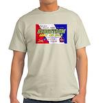 Bergstrom Army Air Base (Front) Ash Grey T-Shirt