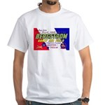 Bergstrom Army Air Base (Front) White T-Shirt