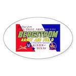 Bergstrom Army Air Base Oval Sticker